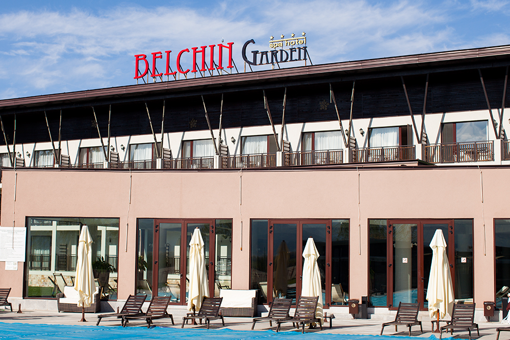 View from Belchin Garden Spa Hotel