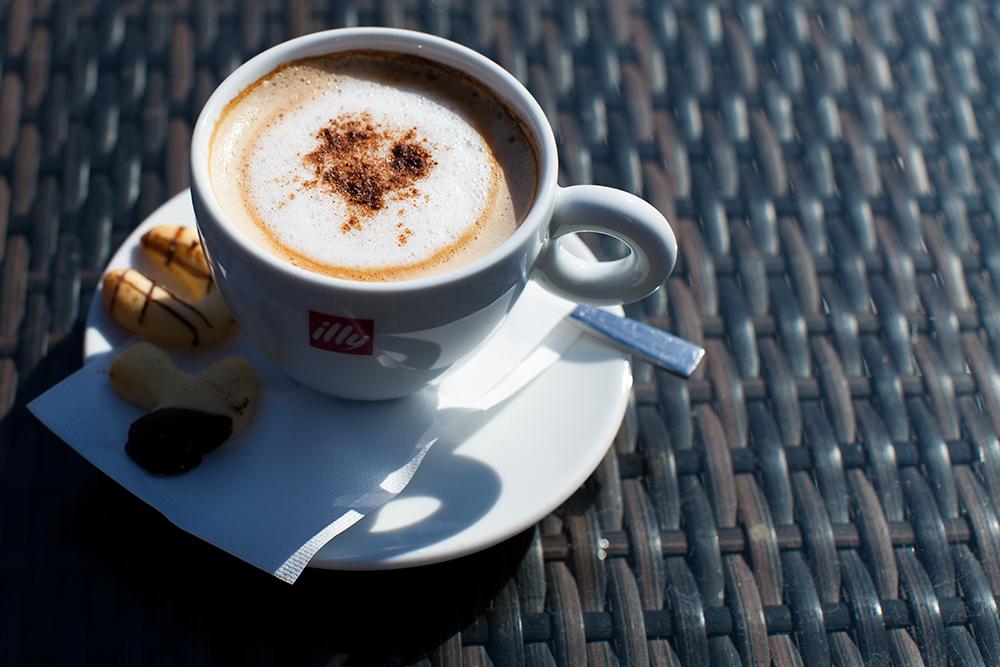 Coffee at Belchin Garden Spa