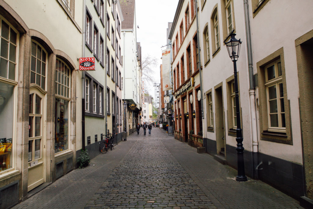 The old town in Cologne, Germany