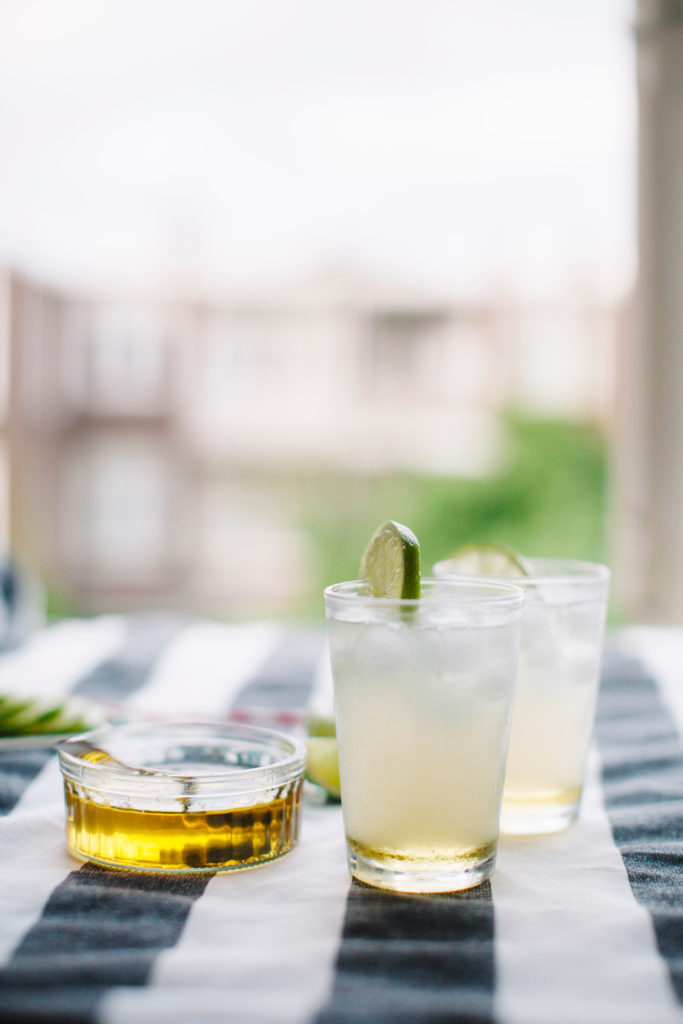 Easy Cocktail Recipe You're Going to Love | Valentine's Day Cocktails by popular LA lifestyle blog, Tea Cups and Tulips: image of a Spicy Skinny Margarita.