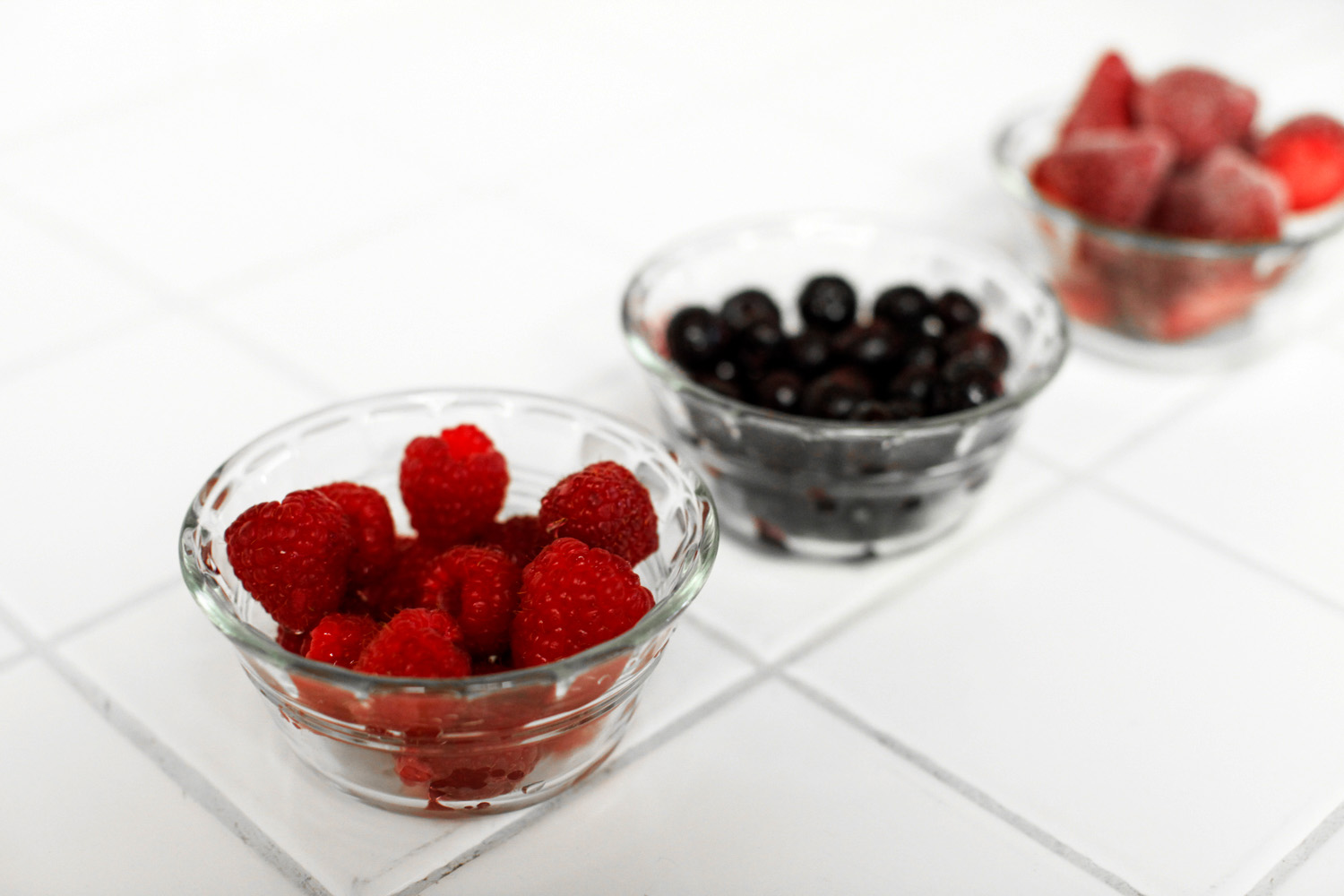 Triple Berry Mimosa Recipe, featured by top US food blog, Tea Cups & Tulips: image of Ingredients for triple berry mimosas