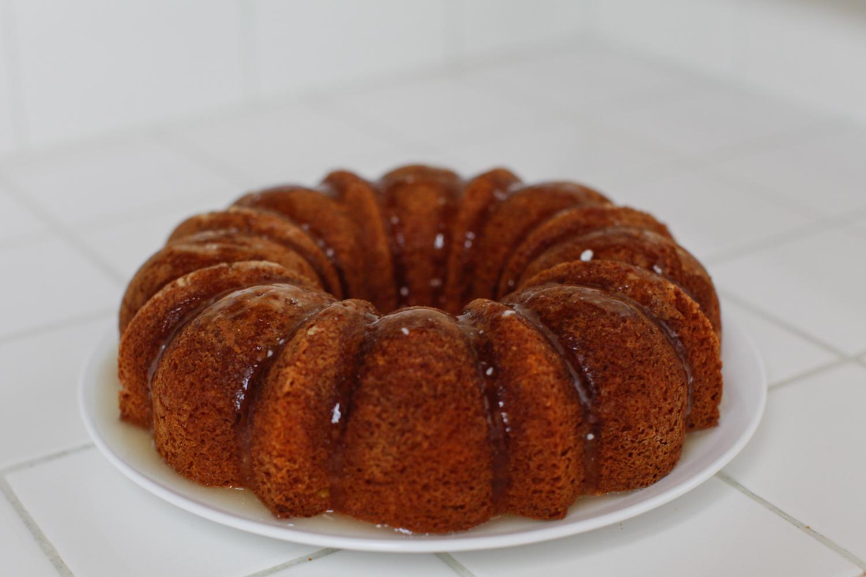 Kris Jenner Lemon Cake Recipe featured by top US food blog, Tea Cups & Tulips