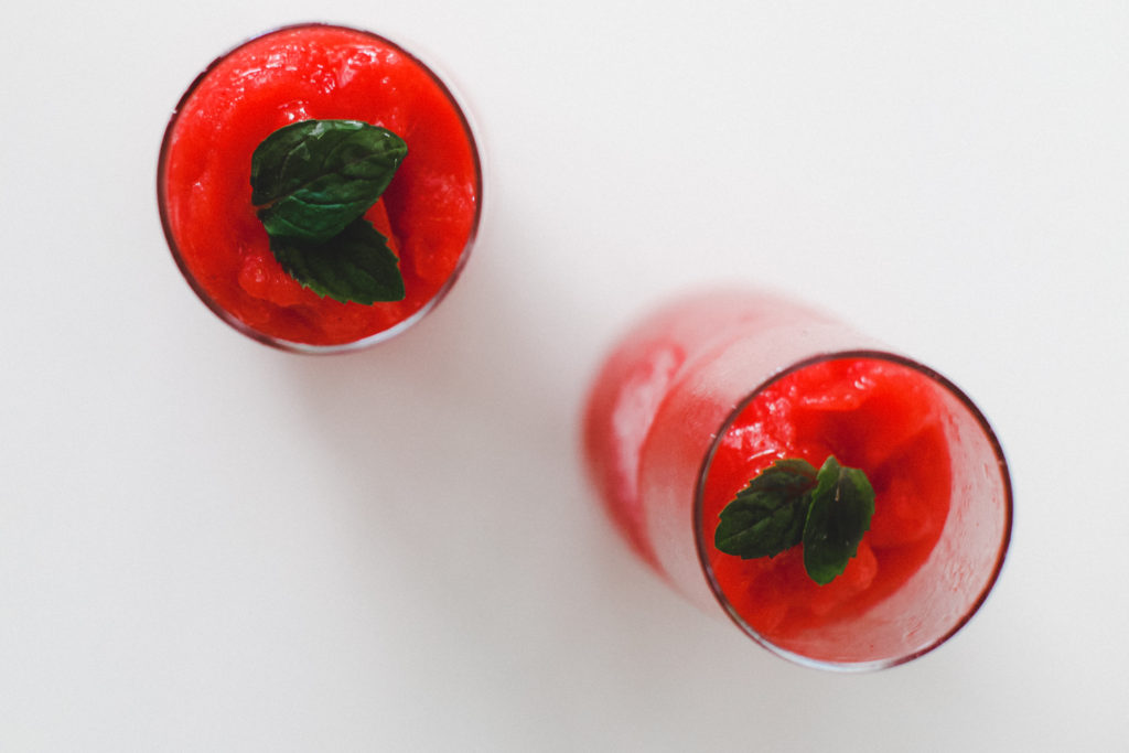 Refreshing Strawberry Frose