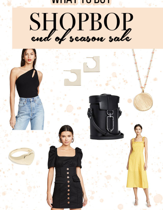 What to Buy From Shopbop End of Season Sale