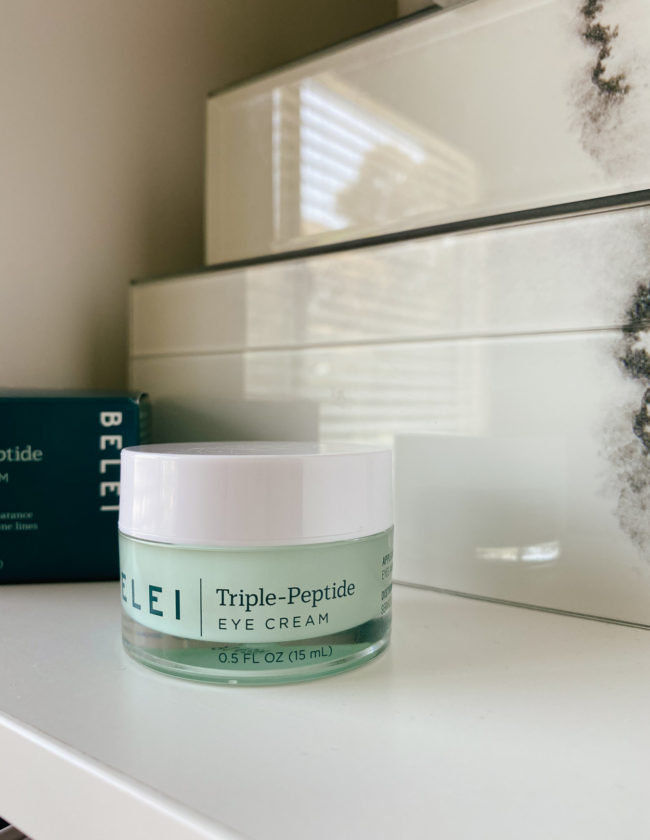 Belei Triple-Peptide Eye Cream Review