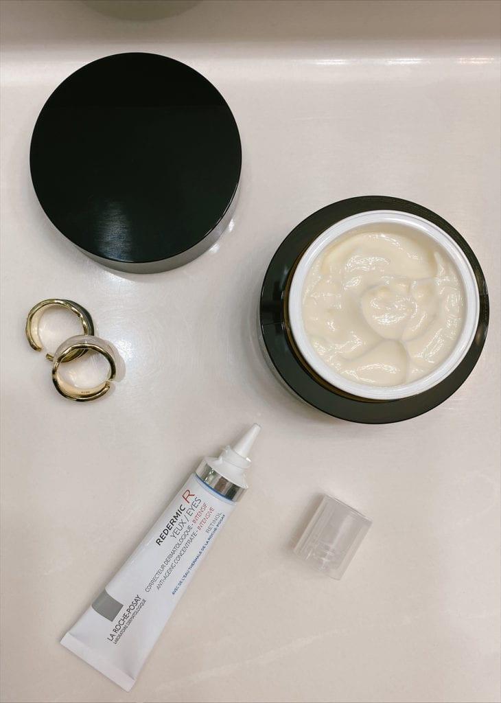 everything you need to know about retinol and retinoid   Retinol vs Retinoid by popular LA beauty blog, Tea Cups and Tulips: image of retinol and retinoid creams.