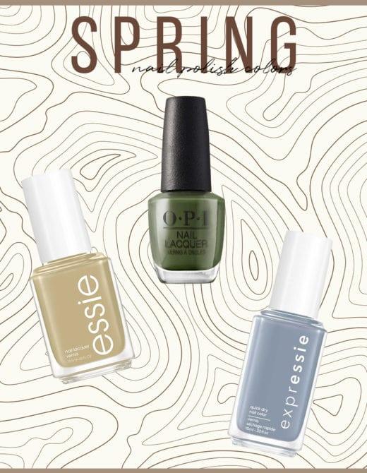 top 6 spring nail polish colors for 2021