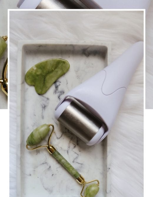 how to clean your ice roller