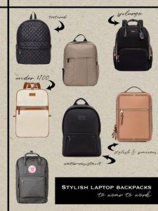 7 Stylish Laptop Backpacks  To Take From Work To Happy Hour